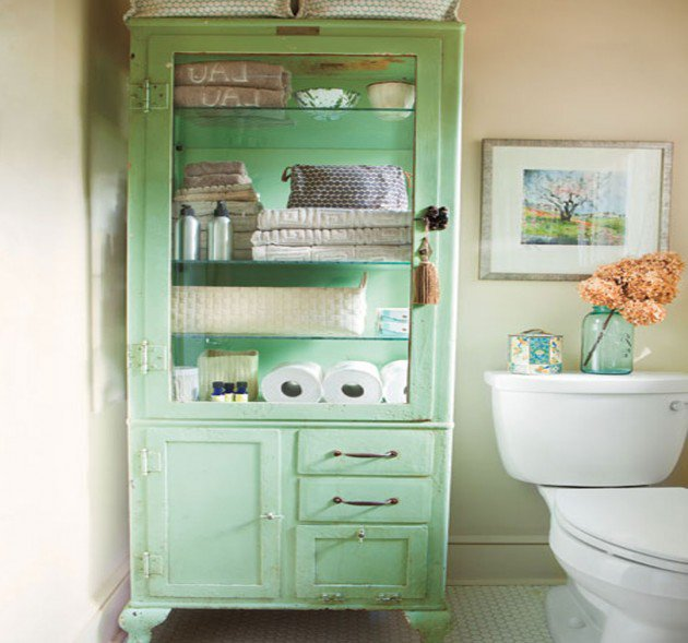 Creative Yet Practical DIY Bathroom Storage Ideas-usefuldiyprojects.com (27)