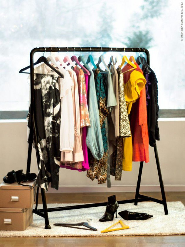 DIY Clothing Storage Solutions For Small Spaces-usefuldiyprojects (23)