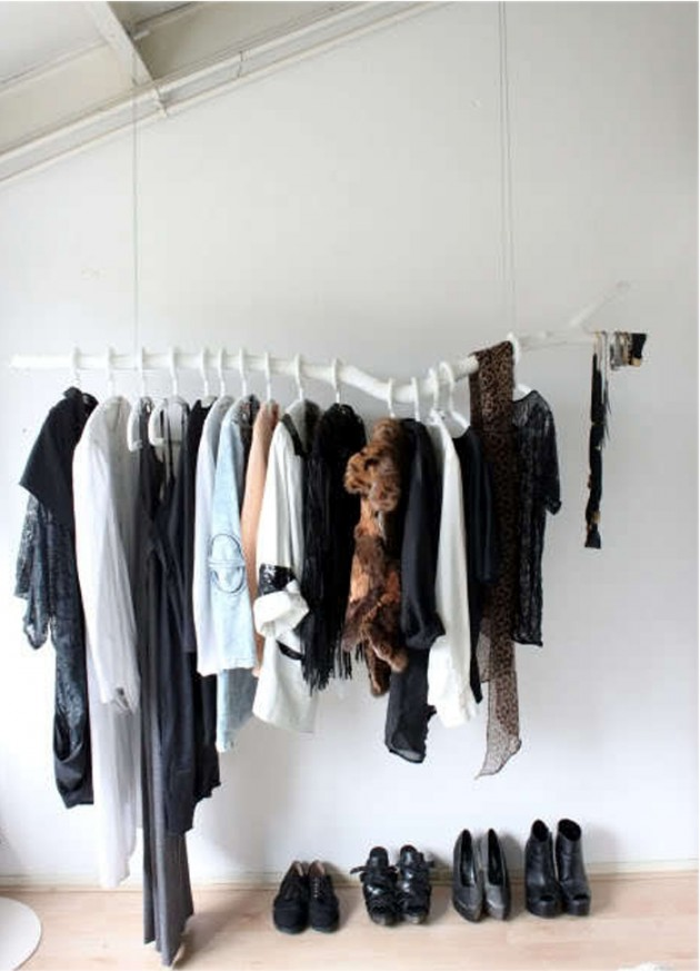 DIY Clothing Storage Solutions For Small Spaces-usefuldiyprojects (28)