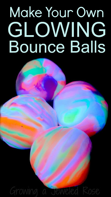 Learn How to Make Play Glowing Bounce Balls For Your Kids