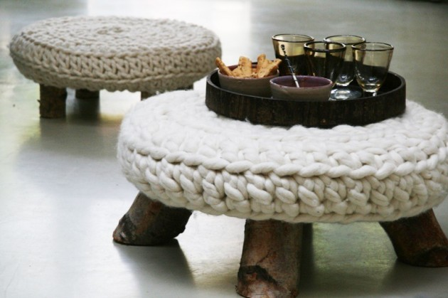 Transform Your Furniture With Knitted Furniture Crafts-usefuldiyprojects (47)
