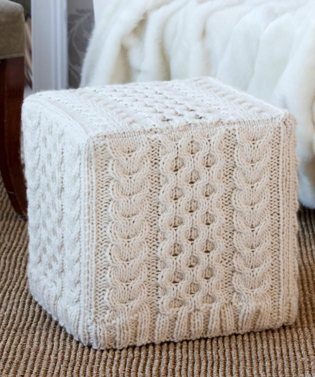 Transform Your Furniture With Knitted Furniture Crafts-usefuldiyprojects (48)