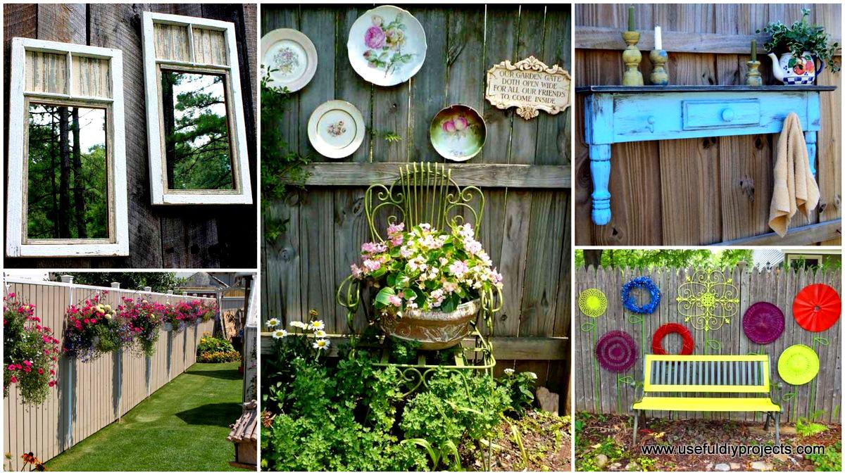Diy Decorative Garden Fence - Best Diy (Do It Your Self)