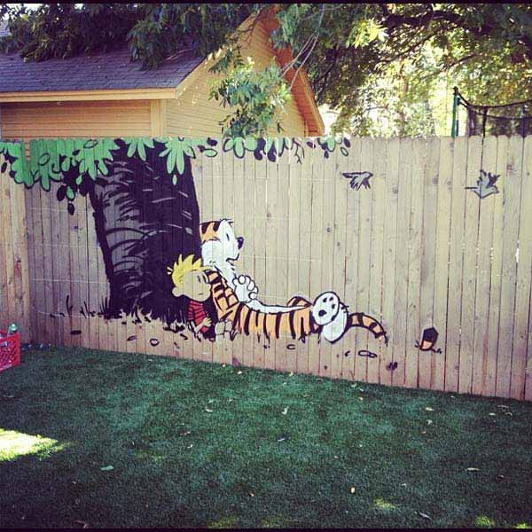 Top 23 DIY Garden Fence Decorations To Mesmerize Pedestrians usefuldiyprojects.com decor (9)