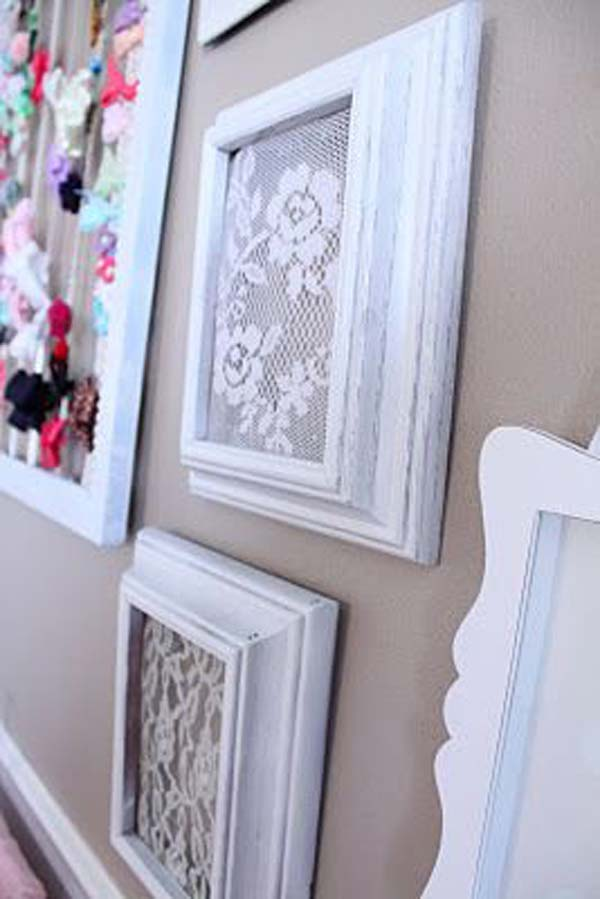 22 Mesmerizing Homemade DIY Lace Crafts To Beautify Your Home usefuldiyprojects.com (13)