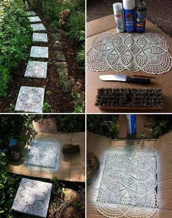 22 Mesmerizing Homemade DIY Lace Crafts To Beautify Your Home usefuldiyprojects.com (4)