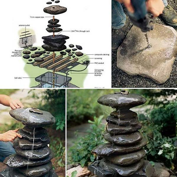 26 DIY Rock Garden Decorating Ideas of Immense Beauty usefuldiyprojects (13)