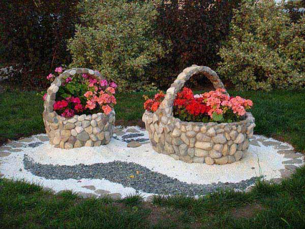 26 DIY Stone Garden Decorating Ideas of Immense Beauty usefuldiyprojects