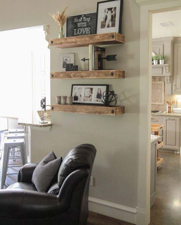 Cool Display Ideas For a Cozy Welcoming Household usefuldiyprojects (18)