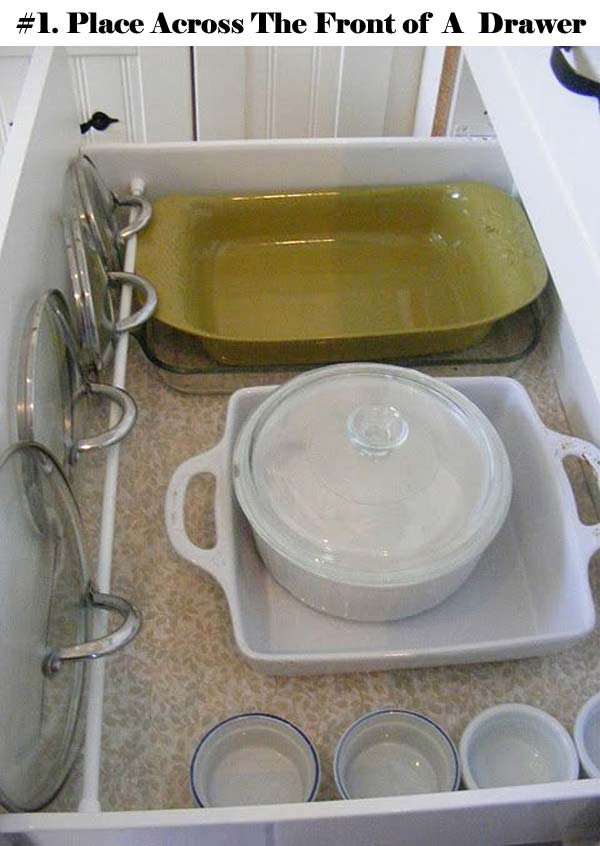 12 Insanely Smart Ways to Organize Your Pot Lids (1)