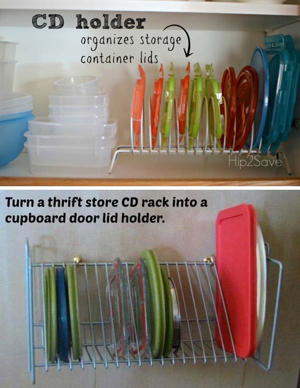 12 Insanely Smart Ways to Organize Your Pot Lids (6)