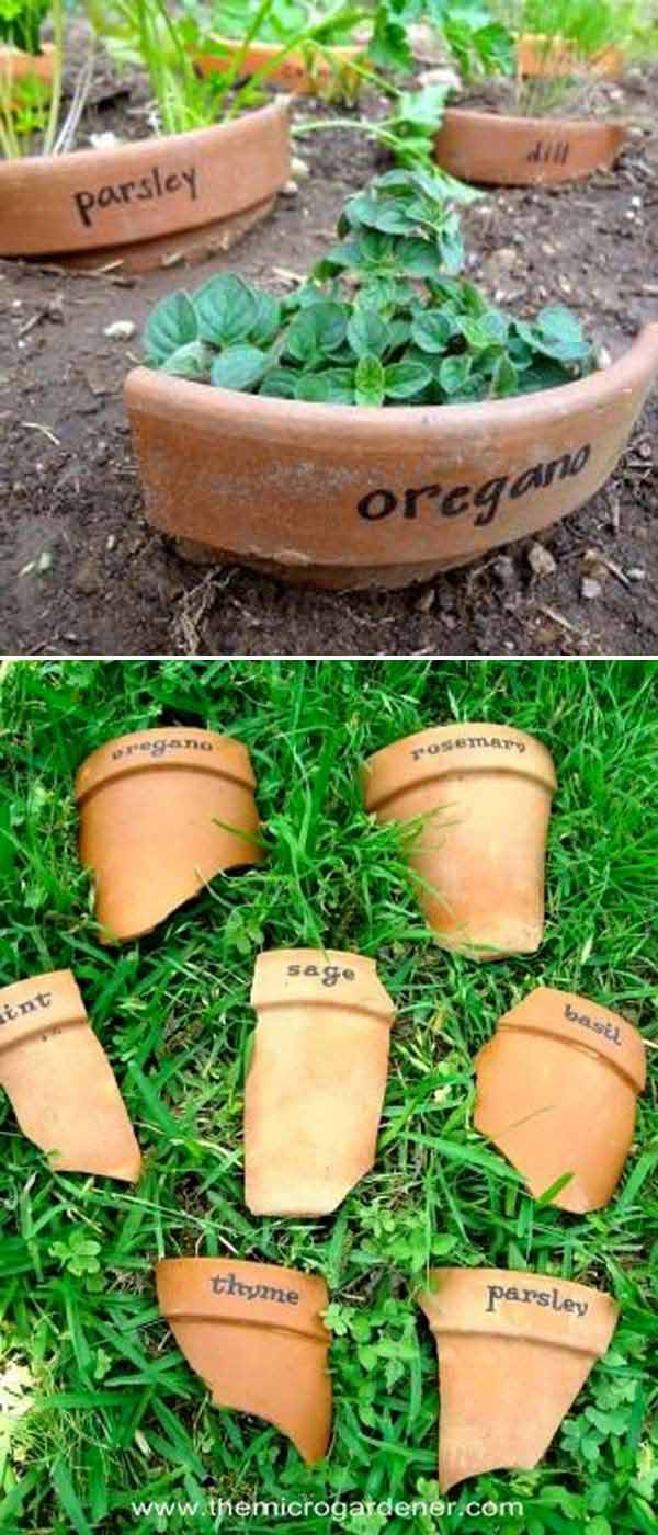 19 Brilliant No-Money Ideas to Label The Plants in Your Garden (11)
