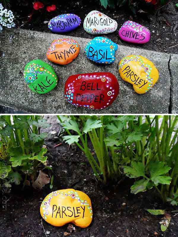 19 Brilliant No-Money Ideas to Label The Plants in Your Garden (2)