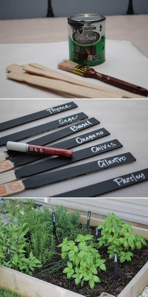 19 Brilliant No-Money Ideas to Label The Plants in Your Garden (20)