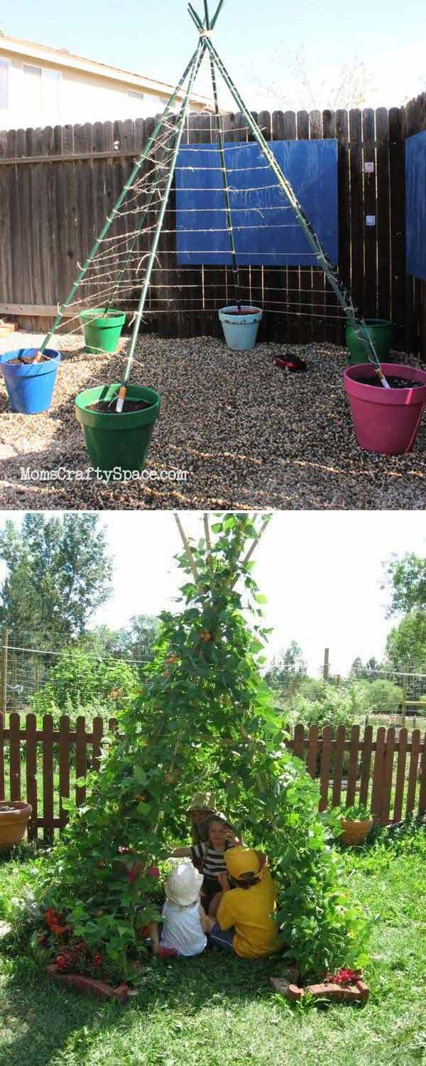 10+ Fun backyard transformation ideas on a budget for Kids Playground (10)