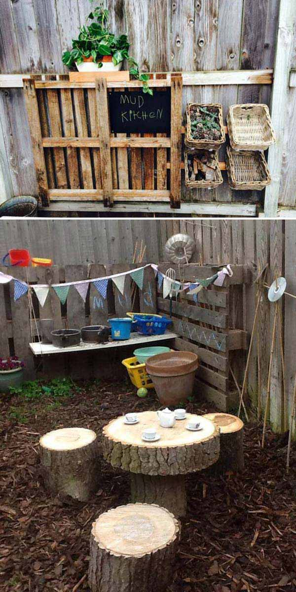10+ Fun backyard transformation ideas on a budget for Kids Playground (2)