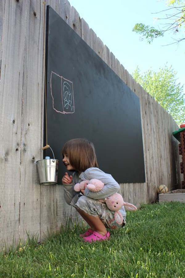 10+ Fun backyard transformation ideas on a budget for Kids Playground (7)