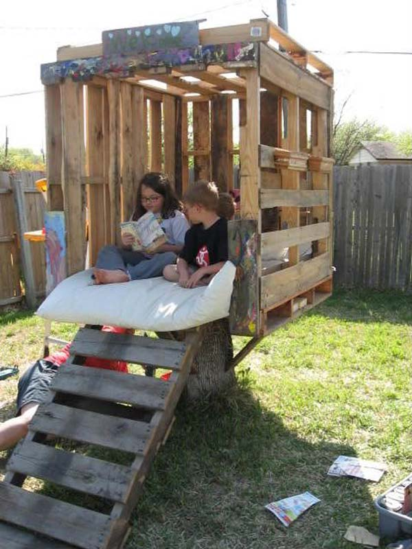 10+ Fun backyard transformation ideas on a budget for Kids Playground (8)