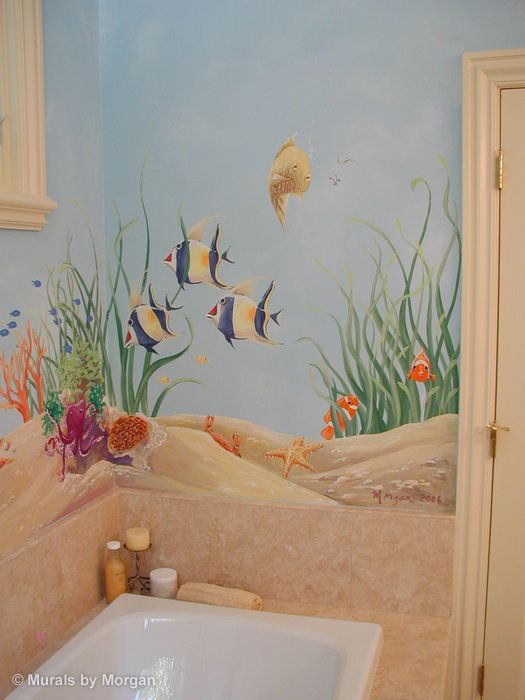 underwater wall painting