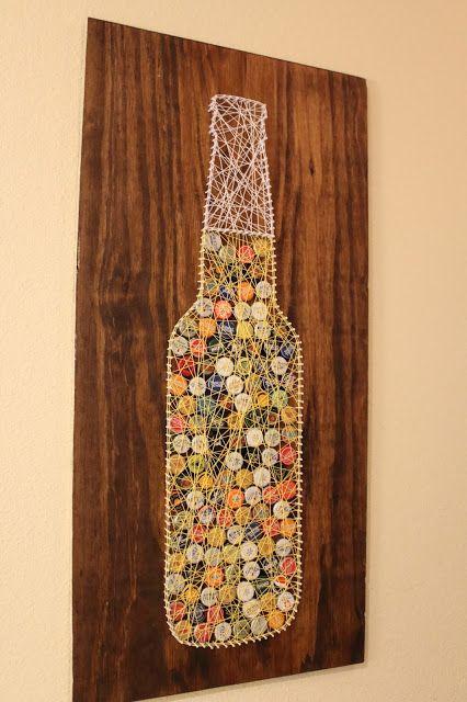 How To Make Bottle Cap Wall Art Mycoffeepot Org