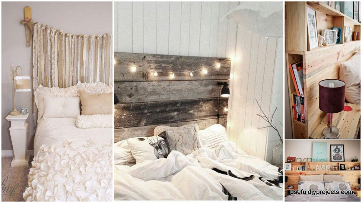 16 Diy Headboards That Can Revamp Your Bed Useful Diy Projects