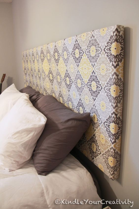 4eef0abc3e3f6790df61a3becb284ba5 - 16 DIY Headboards That Can Revamp Your Bed