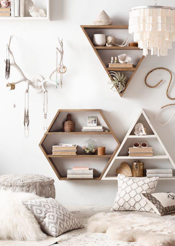 shallow book shelves