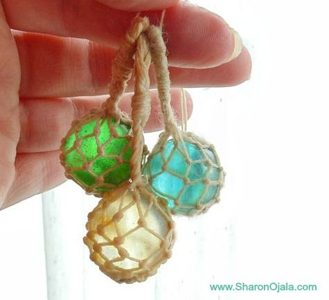 gems with nautical rope