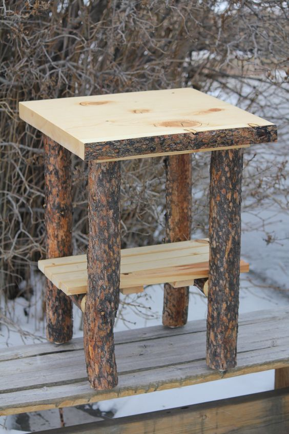 One nightstand for your country lodge