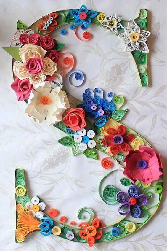 colorful paper art