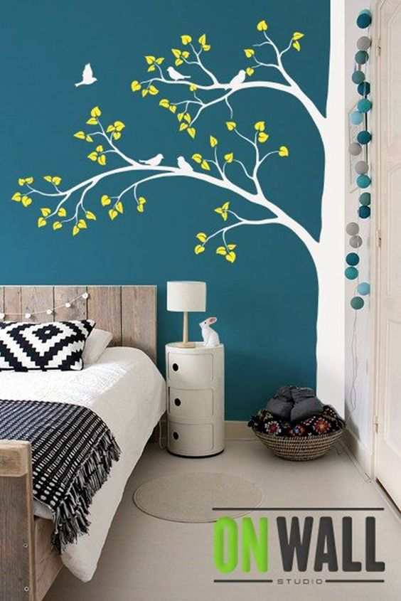 tree on wall design