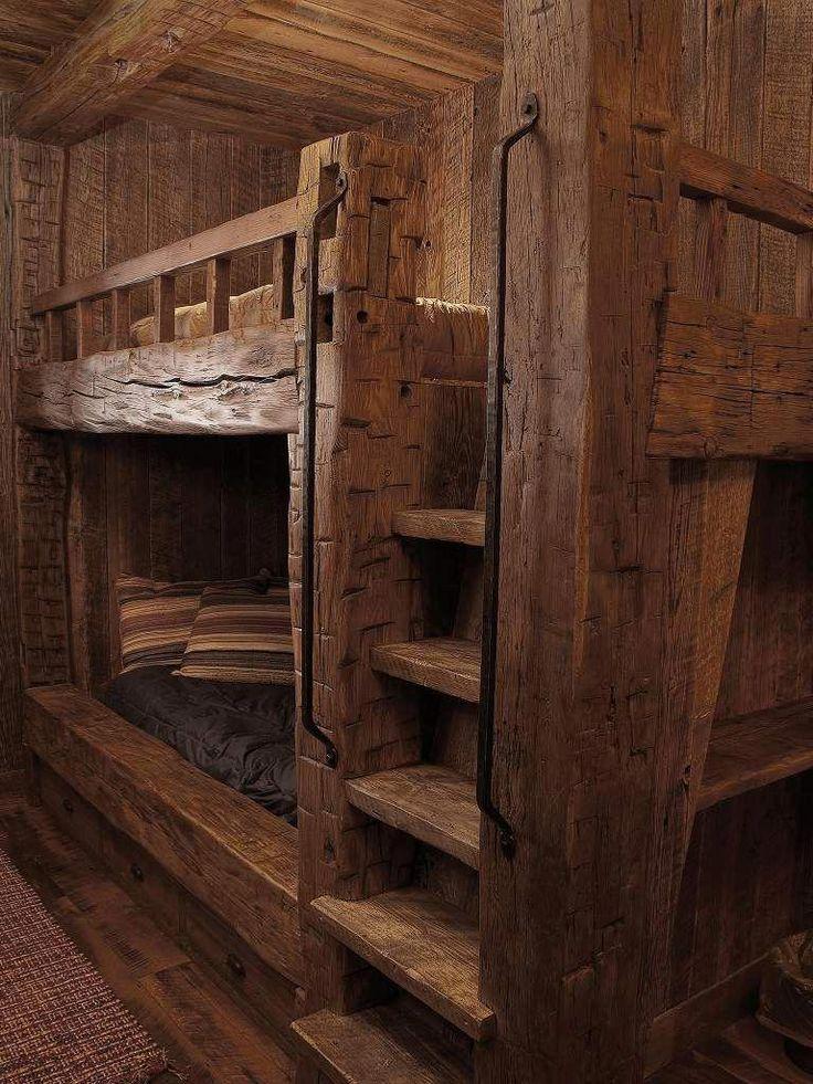 rustic bedroom design