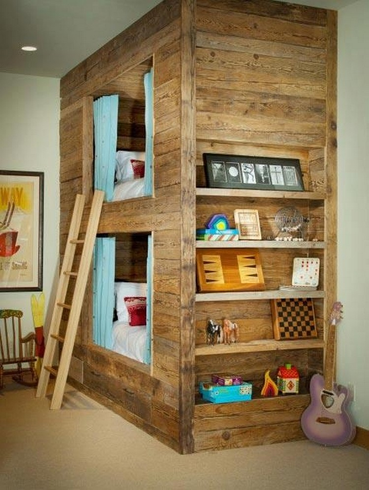 storage, double deck, bedroom