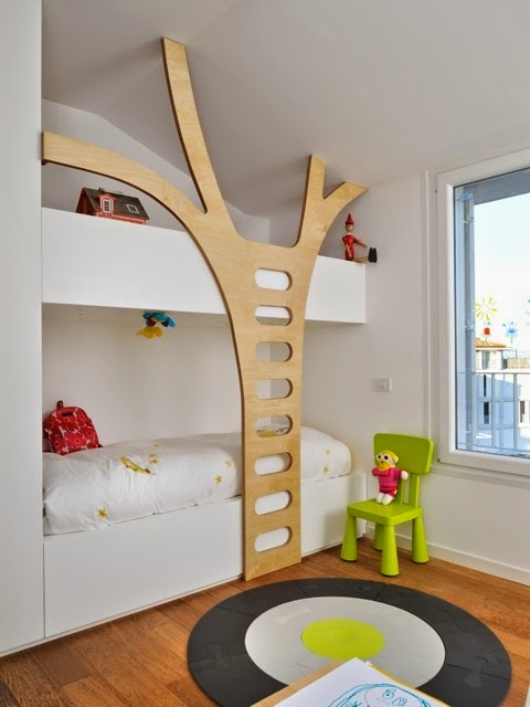 tree bedroom for kids