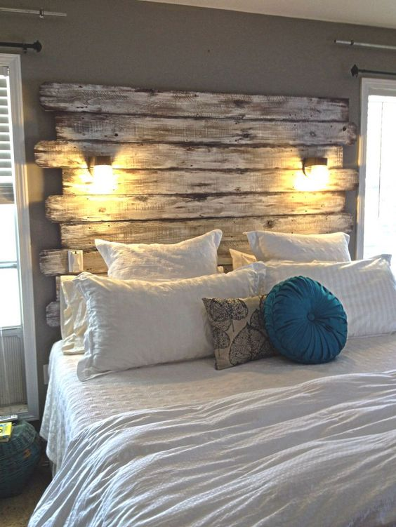 dee3b622088db75da7ac42dacf1f5906 - 16 DIY Headboards That Can Revamp Your Bed