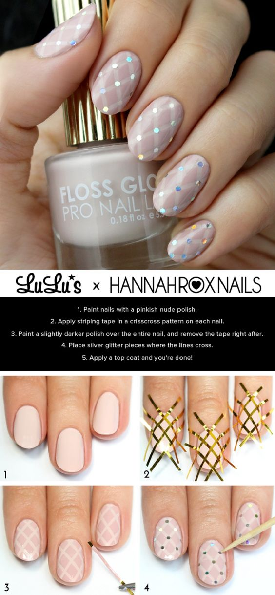 nail100 - 111 Nail Art Tutorials - Learn How To Do The Simple Ones To Intricate Details