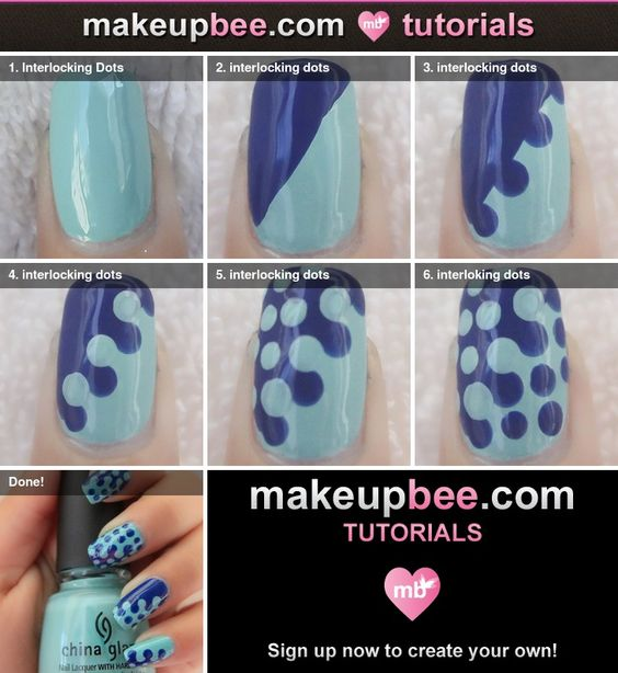 nail101 - 111 Nail Art Tutorials - Learn How To Do The Simple Ones To Intricate Details