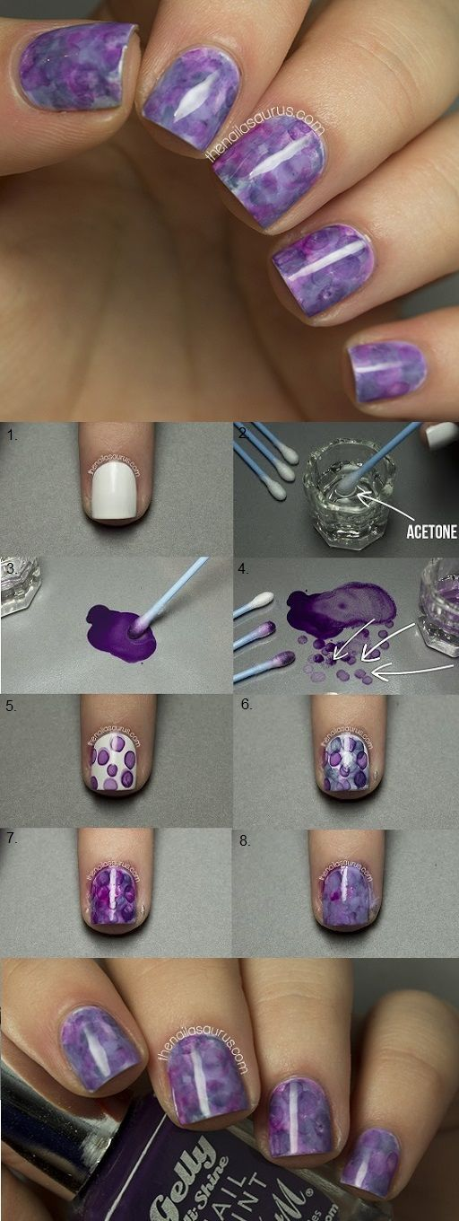 nail103 - 111 Nail Art Tutorials - Learn How To Do The Simple Ones To Intricate Details