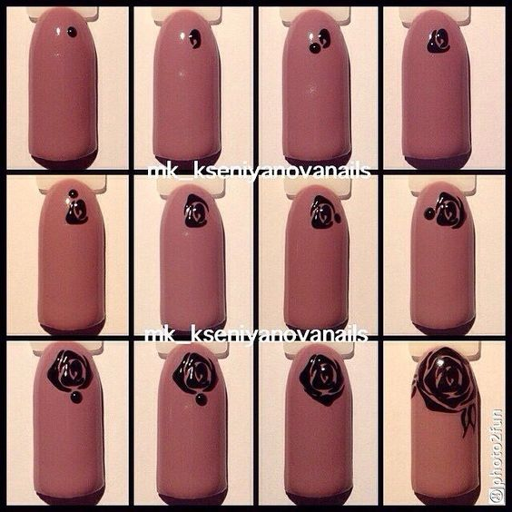 nail106 - 111 Nail Art Tutorials - Learn How To Do The Simple Ones To Intricate Details