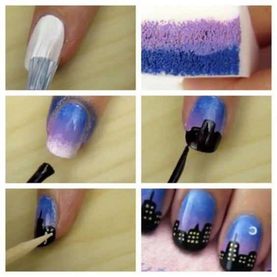 nail108 - 111 Nail Art Tutorials - Learn How To Do The Simple Ones To Intricate Details