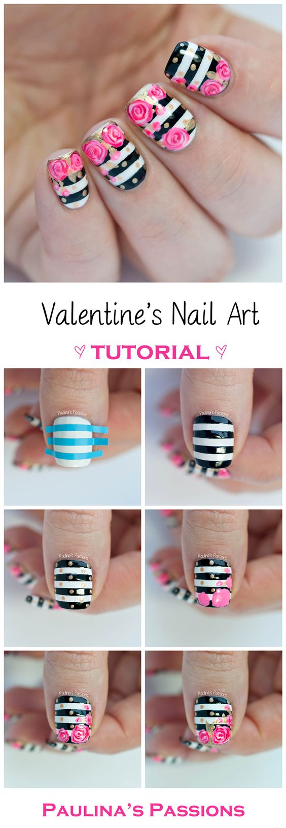 nail12 - 111 Nail Art Tutorials - Learn How To Do The Simple Ones To Intricate Details