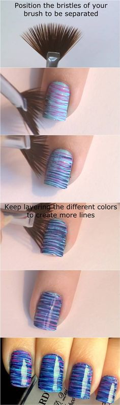 nail18 - 111 Nail Art Tutorials - Learn How To Do The Simple Ones To Intricate Details