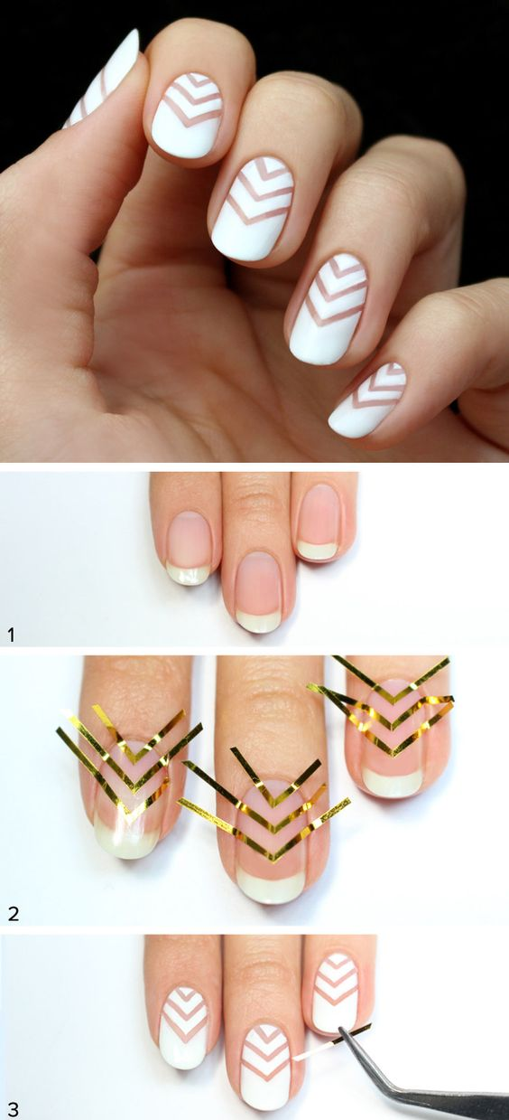 nail19 - 111 Nail Art Tutorials - Learn How To Do The Simple Ones To Intricate Details