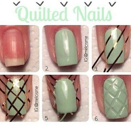 nail2 - 111 Nail Art Tutorials - Learn How To Do The Simple Ones To Intricate Details