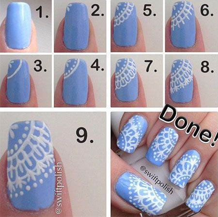 nail20 - 111 Nail Art Tutorials - Learn How To Do The Simple Ones To Intricate Details