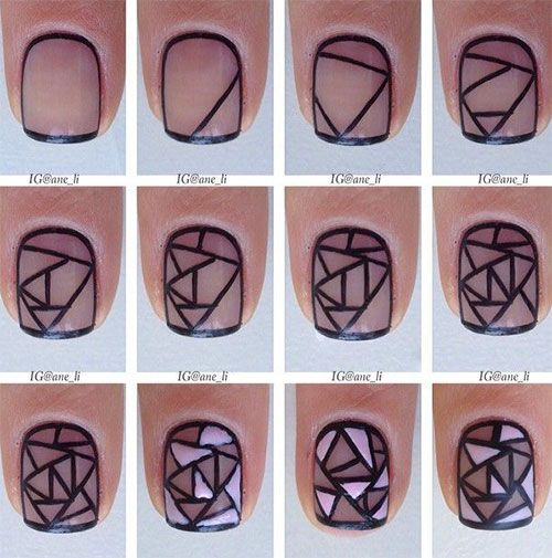 nail29 - 111 Nail Art Tutorials - Learn How To Do The Simple Ones To Intricate Details