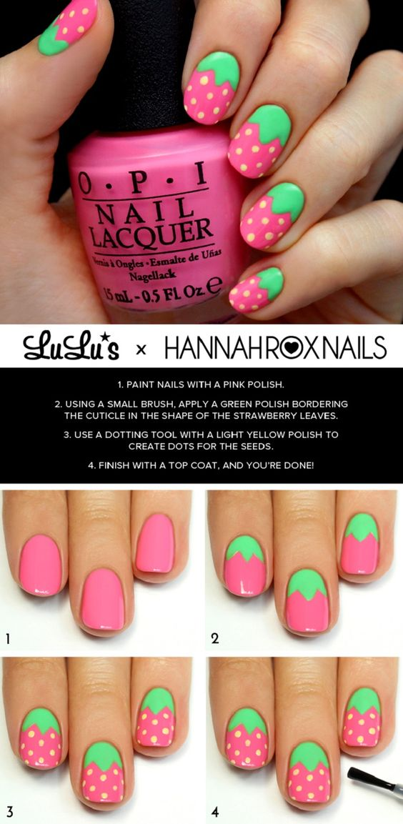 nail30 - 111 Nail Art Tutorials - Learn How To Do The Simple Ones To Intricate Details