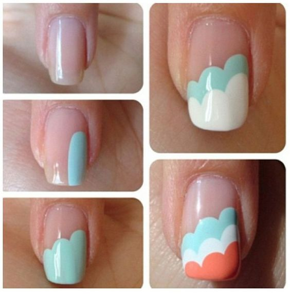 nail33 - 111 Nail Art Tutorials - Learn How To Do The Simple Ones To Intricate Details