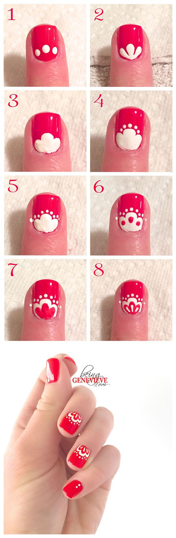 nail34 - 111 Nail Art Tutorials - Learn How To Do The Simple Ones To Intricate Details