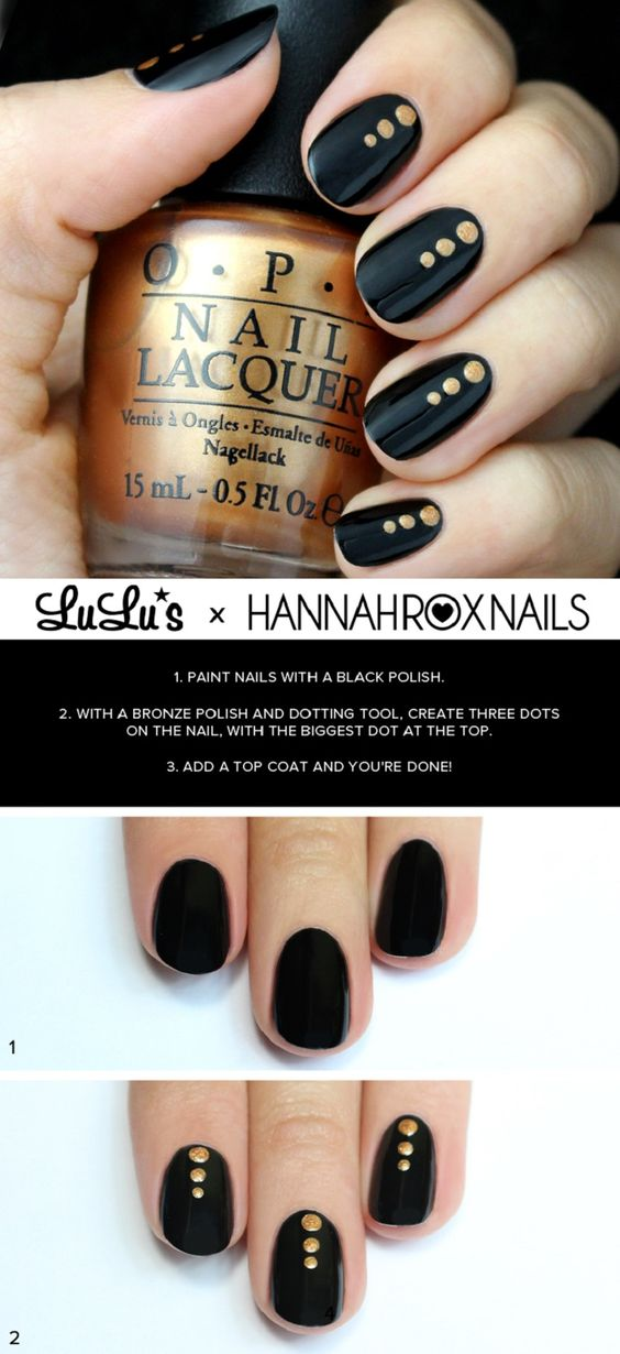 nail36 - 111 Nail Art Tutorials - Learn How To Do The Simple Ones To Intricate Details